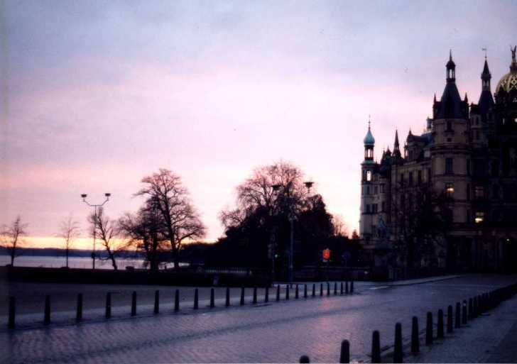 Sonnenaufgang Schwerin